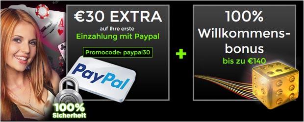 Online Casino Paypal Bonus